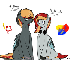 Next Gen: Mathew and Mathilda by lRUSU