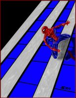 the spider man by smddoc