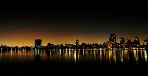 Manhattan from Central Park by mnjul
