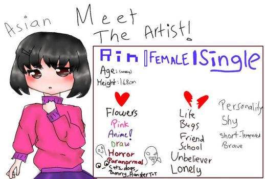 Meet The Artist, by Emily071