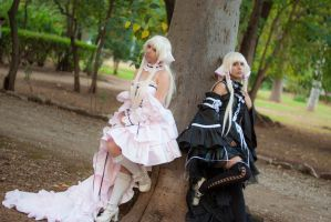 Chii and Freya | Chobits by CardCaptorNegi