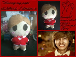 Changmin Balloons Plushie by chruxsh0rtie