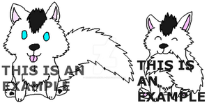 Two Buyable Cheap Chibi lines-10 points only by xX-NIGHTBANEWOLF-Xx