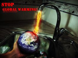 STOP global warming by BizoneTheMighty