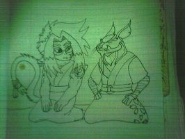 Will And Master Splinter by Will6790