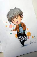 JEAN KIRSTEIN CHIBI ver. with COPIC by deicus4ever