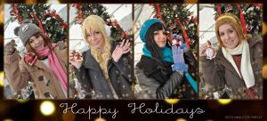 Happy Holidays - K ON by IrethMinllatur