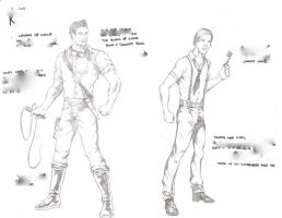 Character Sketches 1- Project by AlonsoNunez