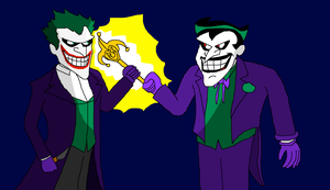 Handing Over The Title Of Clown Prince by Scurvypiratehog