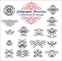 Calligraphic Flourishes by billps