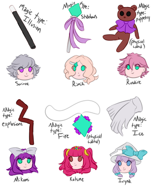 Wands and Owners by MikomiKisomi