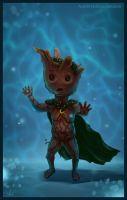 Maybe Baby Groot? :) by Azot2014