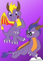 Spyro and George by Doomdrao