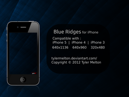 Blue Ridges for iPhone by t-dgfx