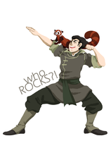 ATLA: Who ROCKS? by momofukuu