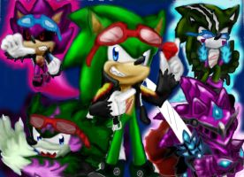 Scourge transformations by 4sonicfan