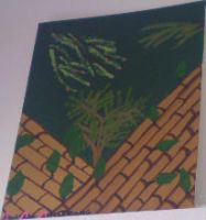 Bamboo painting by luethlover