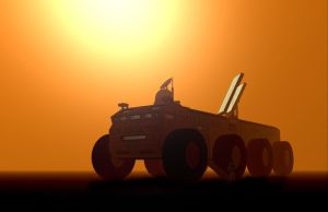 Peter Elson rover with light by Ludo38
