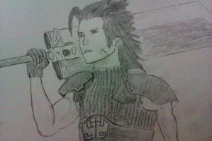 Zack Fair by alperyarali1
