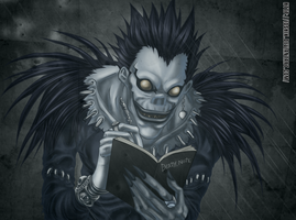 death note ryuk by ioshik