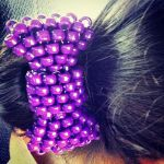 Kandi hair bow by BBEEAARR