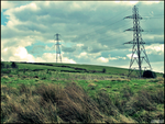 The Tired Pylons by theskitzo