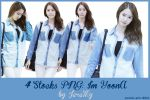 [PNGset5] SNSD's YoonA by exotic-siro
