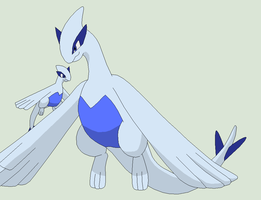 Pokemon Base 93~Lugia 5~ by Xbox-DS-Gameboy