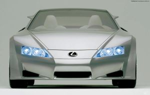 Lexus LF-A 02 by FreeWallpapers