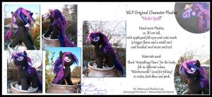 MLP Plushie 'Violet Spell' by Costumy