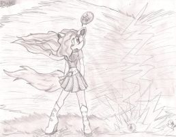 Phebe the wolf by CrystelLuna