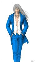Yazoo in a Suit - color by AnakhaSilver
