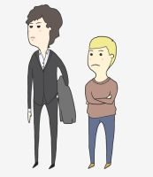 Sherlock and John by Fish-Cow