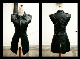 Leather Vest by carlosdouglas