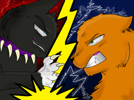Scourge vs Firestar by SimplyMisty