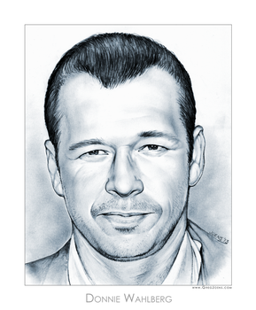 Donnie Wahlberg by gregchapin