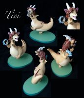Tivi Sculpture by Nera-Aljon