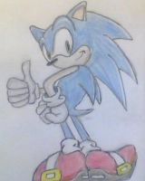 Sonic :D by ArtsyLibrarian