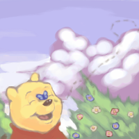 spring pooh by Moonseed