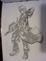 Roxas by Legendrawing