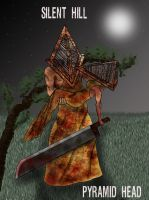 Pyramid Head and ... by Enartis