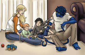 Family Time by DarkspearDevil