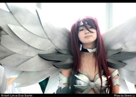 Erza Scarlet- Heaven's Warrior by shutter-puppy