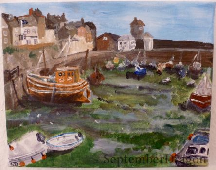 Cornwall - Mevagissey by SeptemberDragon