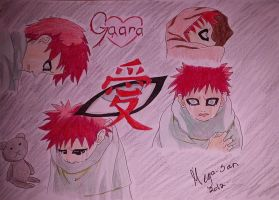 Gaara's Childhood by Meya-san