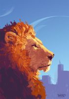 Space Lion by Tohad