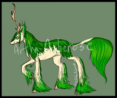 Forest Kirin Auction - SOLD by Artha-Demon