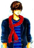 RED SCARF by hitome