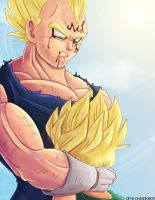 His name was Vegeta by Art-is-a-Explosion
