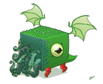 cube-thulhu by TOTOPO